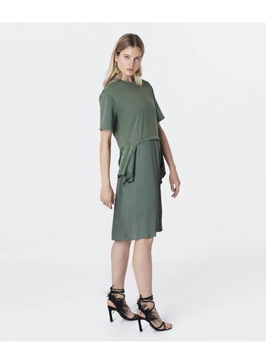 Ipekyol Kadın  Elbise IS1200002242 Haki